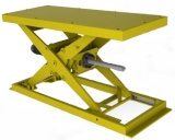 ball screw scissor lift tables
