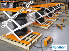 Air Scissor Lift Tables | Enkon Pro