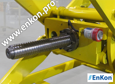 Ball Screw Scissor Lift Tables | Enkon Pro